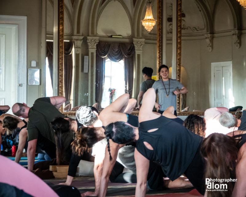 Yogalärarna på Studio Blom, åkte på en inspirationshelg med MJW
